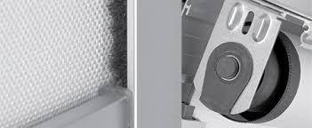 Blackout Roller Blinds With Side Channels Roller Blind Systems Vertilux