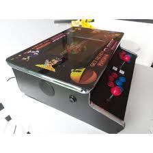 Table Top Arcade Games Flat Bar Table Top Arcade Machine 512 Jamma Games Black