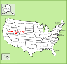 Salt Lake City Zip Code Map by Salt Lake City Utah Usa Map New York Map