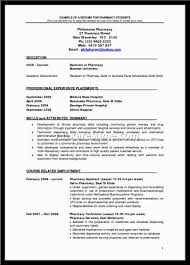 Retail Pharmacist Resume Sample Registered Nurse Resume Sample In The Philippines What Are The