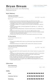 Service Advisor Resume Sample by Leasing Consultant Resume Samples Visualcv Resume Samples Database