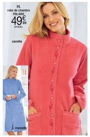 robe de chambre damart damart promotion robe de chambre polaire produit maison