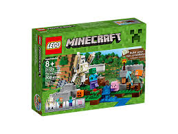 How To Craft A Crafting Table The Iron Golem 21123 Minecraft Lego Shop