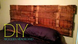 DIY Wooden Headboard  YouTube