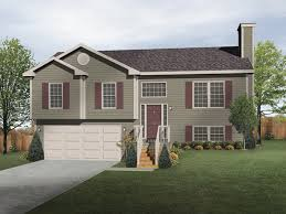 oaklawn split level home plan 058d 0069 house plans and more