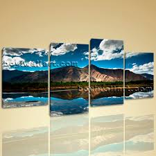 wall art home decor print on canvas hd tibet mountain landscape