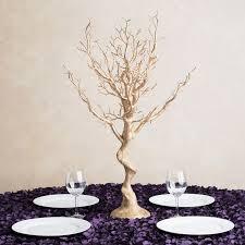 manzanita tree in gold manzanita tree centerpiece