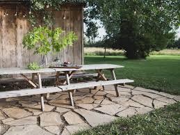 hardscaping 101 how to care for wood outdoor furniture gardenista