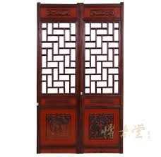 chinese antique open carved panels wall hanging 26p14 home