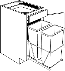 what is the depth of a base cabinet quincy base cabinet with trash pullout base 1 door 1 drawer width 18 height 34 5 depth 24