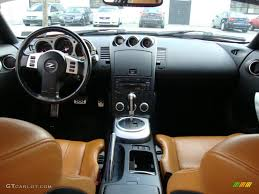 Nissan 350z Orange - burnt orange leather interior 2006 nissan 350z touring coupe photo