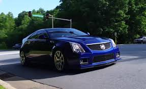 cadillac cts v coup cadillac cts v coupe custom exhaust road test