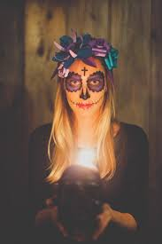 maquillage halloween qui fait peur day of the dead san francisco