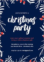 christmas party invitations 15 off super cute designs basic