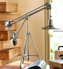 pottery barn tripod table l pottery barn tripod l home design ideas and pictures