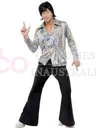 70s Halloween Costumes Men 1960s 70s Hippie Disco Dancer Man Mens Retro Halloween Fancy