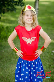 Wonder Woman Costume Tutorial Wonder Woman Costume For Girls U2013 Sewing