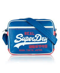 alumni bags mens mash up mini alumni bag in royal superdry