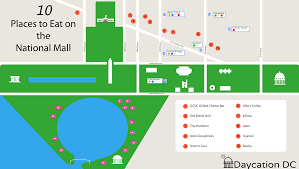 Memorial City Mall Map 10 Places To Eat On The National Mall L Daycation Dc