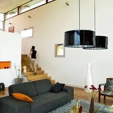 un escalier dans le salon côté maison