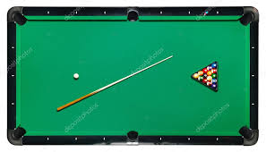 pool table top cover isolated billiard table top view stock photo petkov 54168031