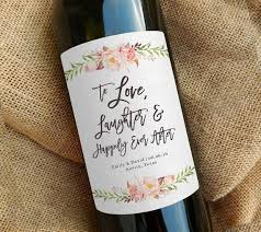 wine bottle favors best 25 wine wedding favors ideas on wine bottle