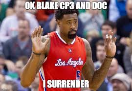 Deandre Jordan Meme - deandre jordan signs back with the clips imgflip
