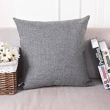 home brilliant decorative linen square throw pillow