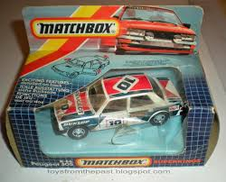 peugeot made toys from the past 459 matchbox u2013 peugeot 305 k 84 1986