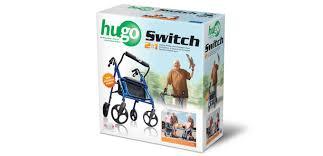 Transport Walker Chair Hugo Switch Rolling Walker Transport Chair U2013 Hugo Mobility