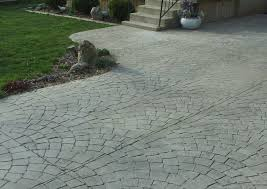 Fractured Earth Concrete Stamp by Concrete Patio Cost Ontario Home Outdoor Decoration