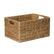 Cane Laundry Hamper by Small Rectangle Basket Kmart