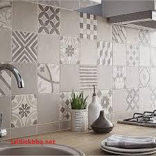 papier peint cuisine papier peint imitation carrelage cuisine pour idees de deco de