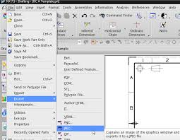 how to create a drawing template and add to nx 7 5 template list