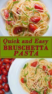 quick and easy bruschetta pasta seasoned sprinkles seasoned