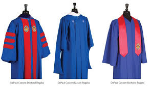 master s cap and gown academic dress tradition depaul commencement