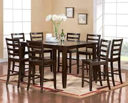 Square Dining Room Table For 4 Furniture Scenic Counter Height Dining Table Standard Round