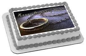 lord of the rings cake topper lord of the ring edible cake topper cupcake toppers edible