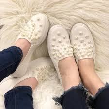 wedding shoes keds women keds x kate spade new york decker pearls pristine