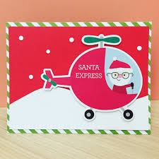 christmas card using die cut pieces from doodlebug u0027s odds u0026ends
