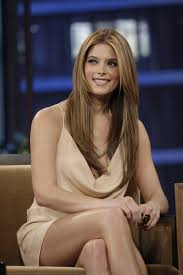 ashley greene with beautiful ombre ashley greene at tonight show with jay leno in los angeles
