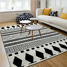 Black White Rugs Modern Modern Rugs The Fashion Statement Yonohomedesign Modern