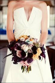 wedding flowers etc purple wildflower bouquet enchanted garden wedding