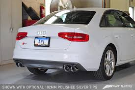 audi s4 exhaust awe tuning b8 b8 5 audi s4 touring edition cat back exhaust system
