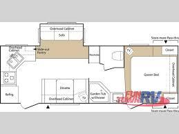 Sprinter Fifth Wheel Floor Plans by Used 2007 Keystone Rv Sprinter Copper Canyon 2491rks Travel