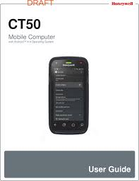 android user guide honeywell ct50lfn dolphin ct50 mobile computer terminal user