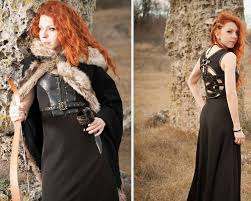 celtic dress viking costume viking dress and mantle with