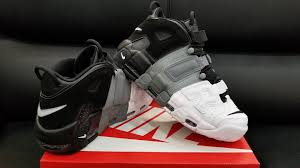 Seeking Air Dates Nike Air More Uptempo Tri Color Black Grey White Release Date