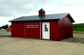 pre fab barn building