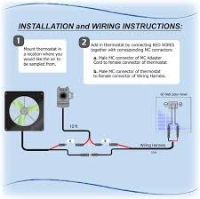 greenhouse thermostat fan control information thermostat install snap fan solar hobby greenhouse fans